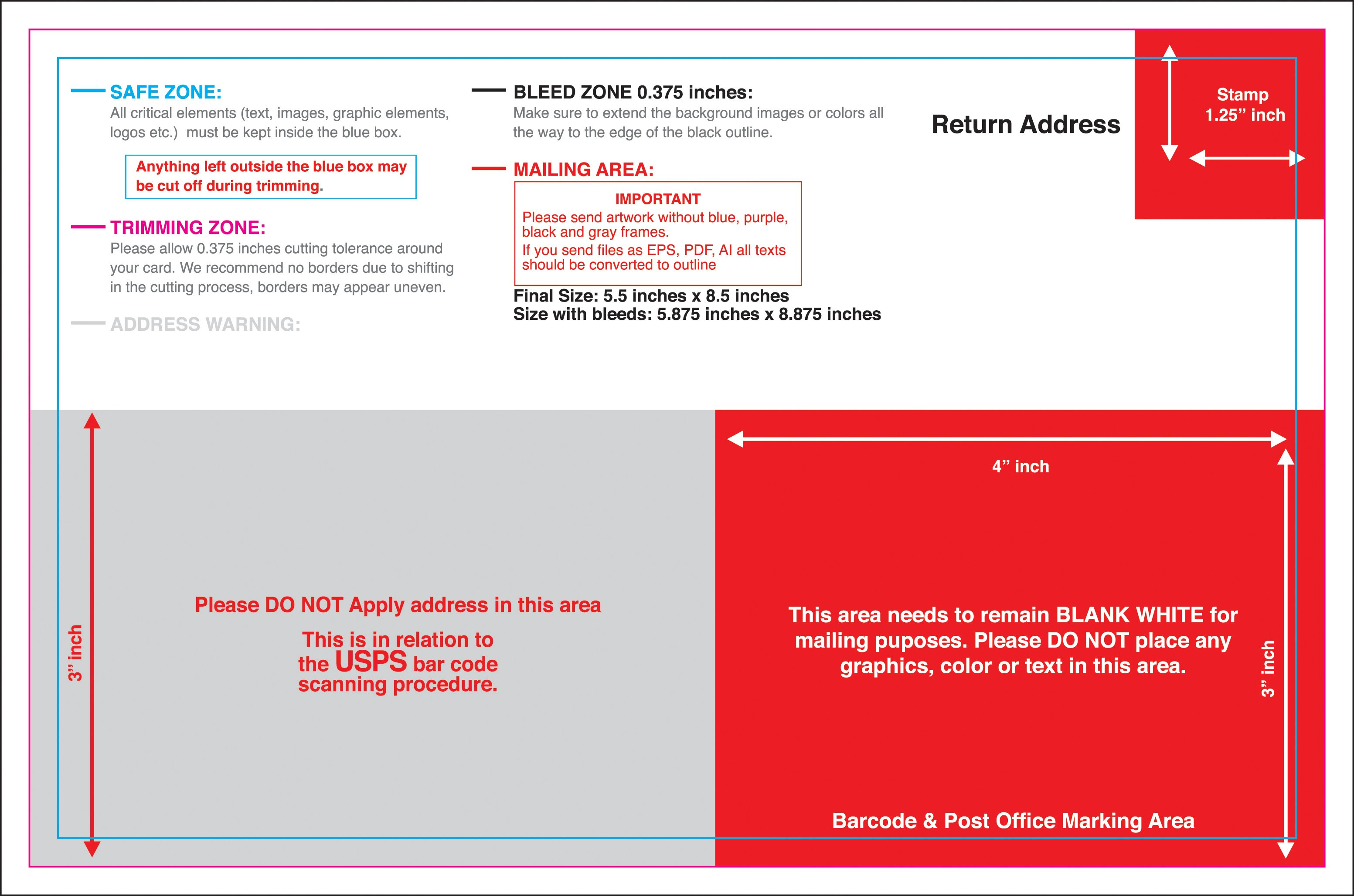 templates for postcards   Physic.minimalistics.co