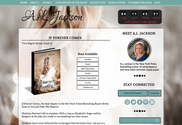 So you need an author website (and blog)? Start here. • Ashland