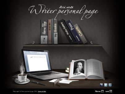 Writer Website Templates
