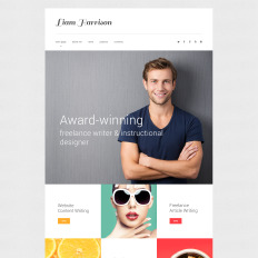13+ Best Writer Website Templates | TemplateMonster