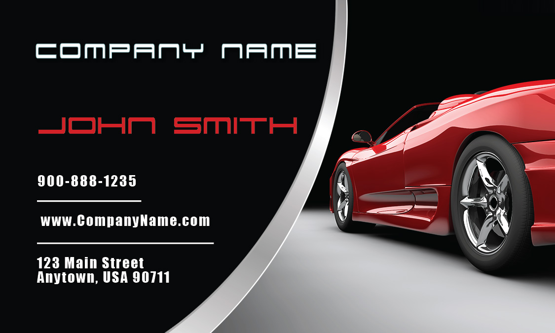 Automobile Business Cards Automotive Business Cards Templates Auto