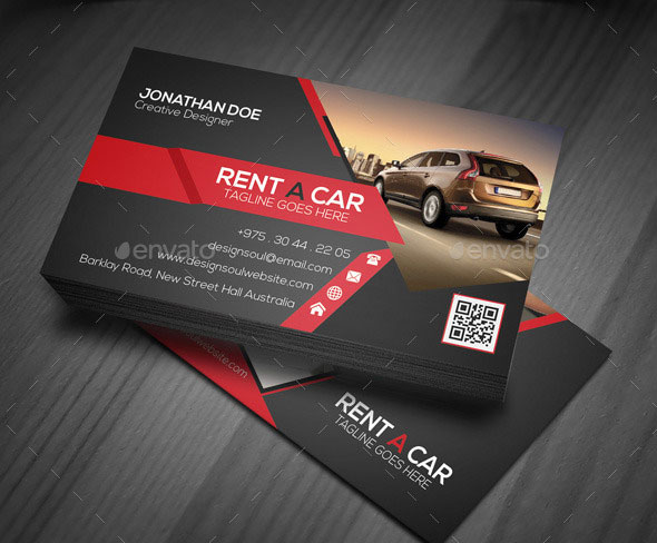 Business Cards Need For Your Automobile Business Today Mondeo