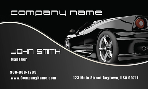 Car Dealership Business Cards Business Cards For Car Salesman