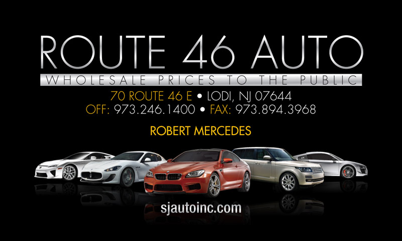 Route 46 Auto Business Cards | Redi Print