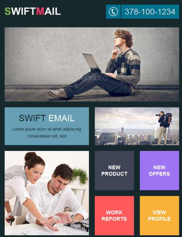 Interactive Newsletter Templates 70 Best Newsletter Templates 2016