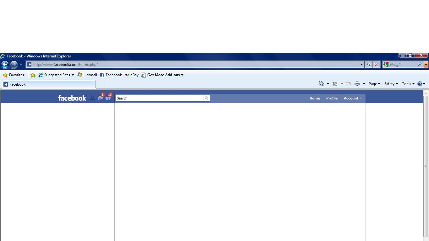 How To Fix Facebook Blank Page   Technobezz