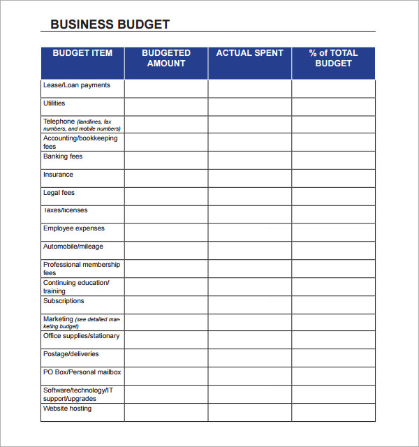 spreadsheet templates for business   Roho.4senses.co