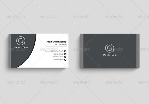 Blank Business Card Template 10 Per Sheet – Charlesbutler