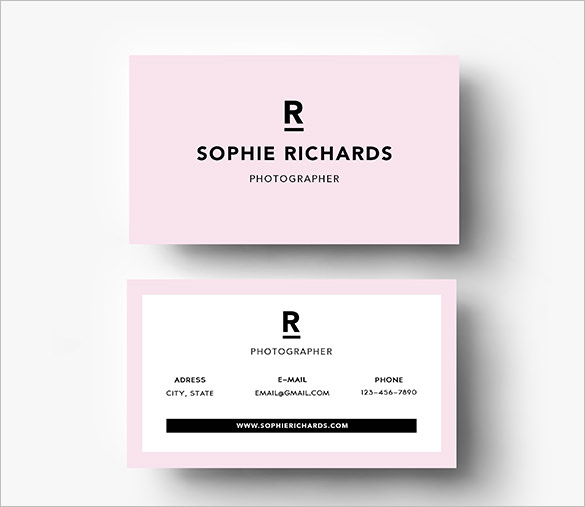 Blank Business Card Template Pdf – PlanMade