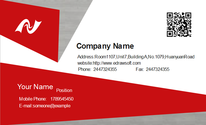 Technician Business Card Template