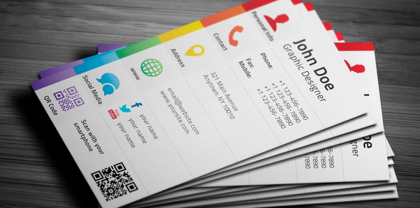 Business Card With Social Media   Top Soft Links
