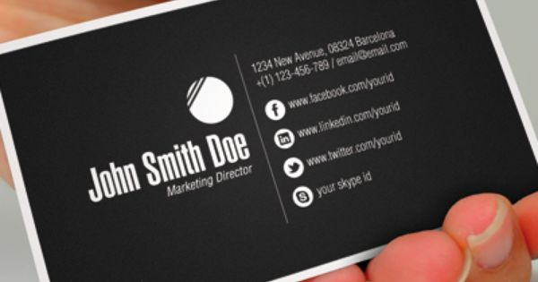 Social Media Business Cards Lilbib Business Cards With Social
