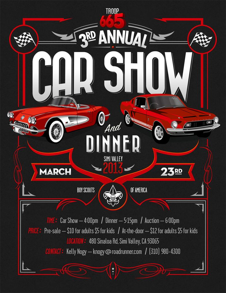 9 best Car Show Flyer images on Pinterest | Flyers, Leaflets and