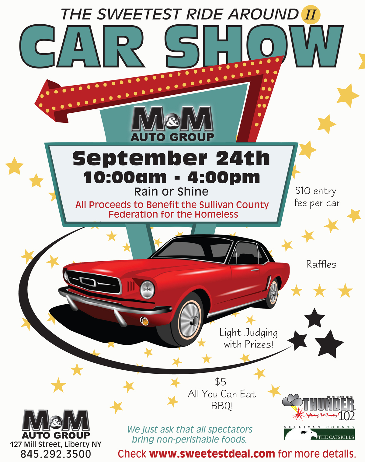 free car show flyer template   Manqal.hellenes.co