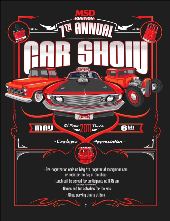 Show Flyers Msd Car Show Flyer Automotive Cars And Kus And