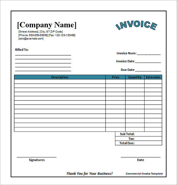 8+ Catering Invoice Templates   Free Sample, Example Format