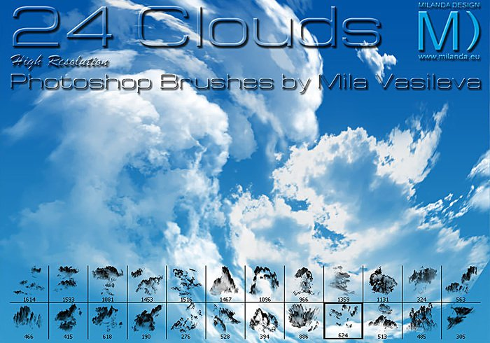 24 Clouds   Free Photoshop Brushes at Brusheezy!