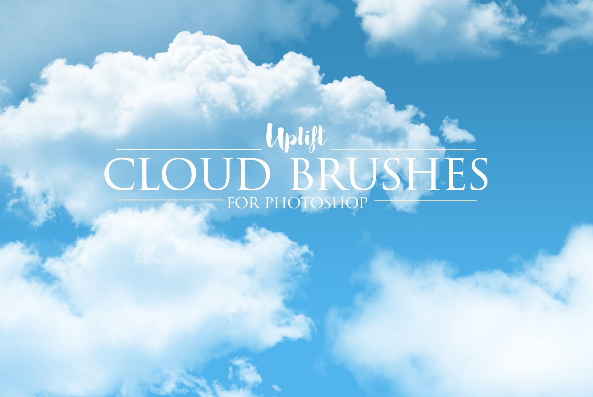 Photoshop Cumulus Cloud Brush   GrutBrushes.com
