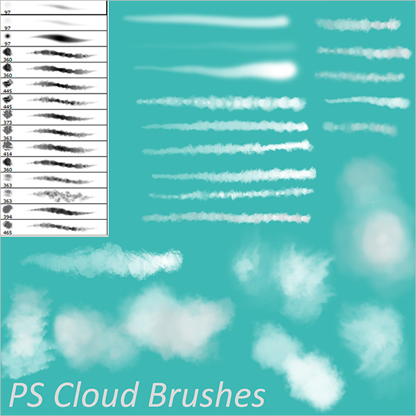 Photoshop Cloud Brushes by sdavis75 on DeviantArt