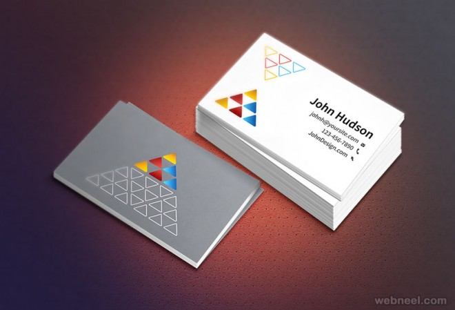 50 Creative Corporate Business Card Design examples   Design