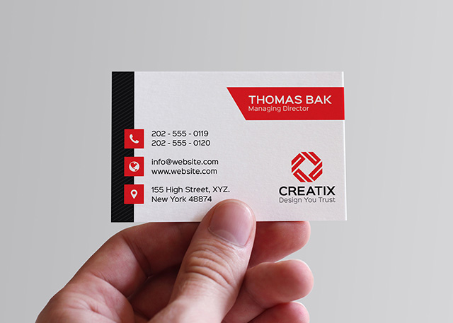 Corporate Business Card   Graphic Pick