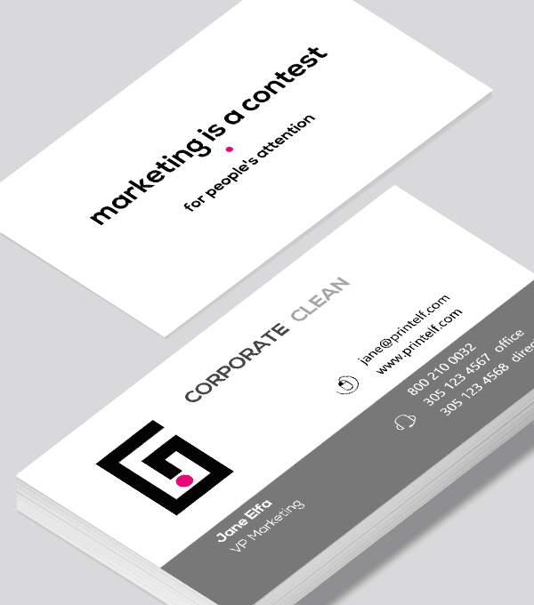 Corporate business card   Modern Design