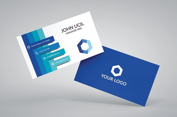 Corporate Business Card Template ~ Business Card Templates