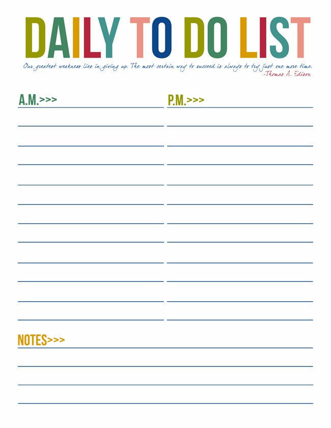 Daily Task List Template – 9+ Free Word, Excel, PDF Format