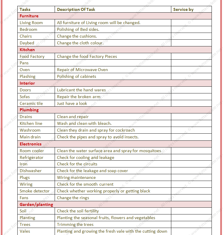 20+ Printable To Do Lists and Task List Templates
