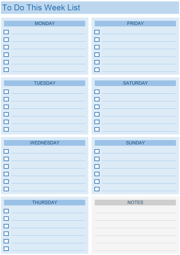 Daily Task List Templates   8+ Free Sample, Example, Format