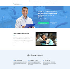 Dental Clinic a Medical Category Flat Bootstrap Responsive Web