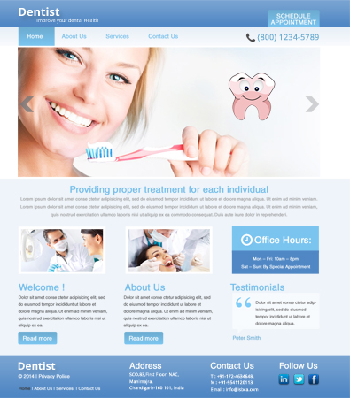 dentist web templates   Dorit.mercatodos.co