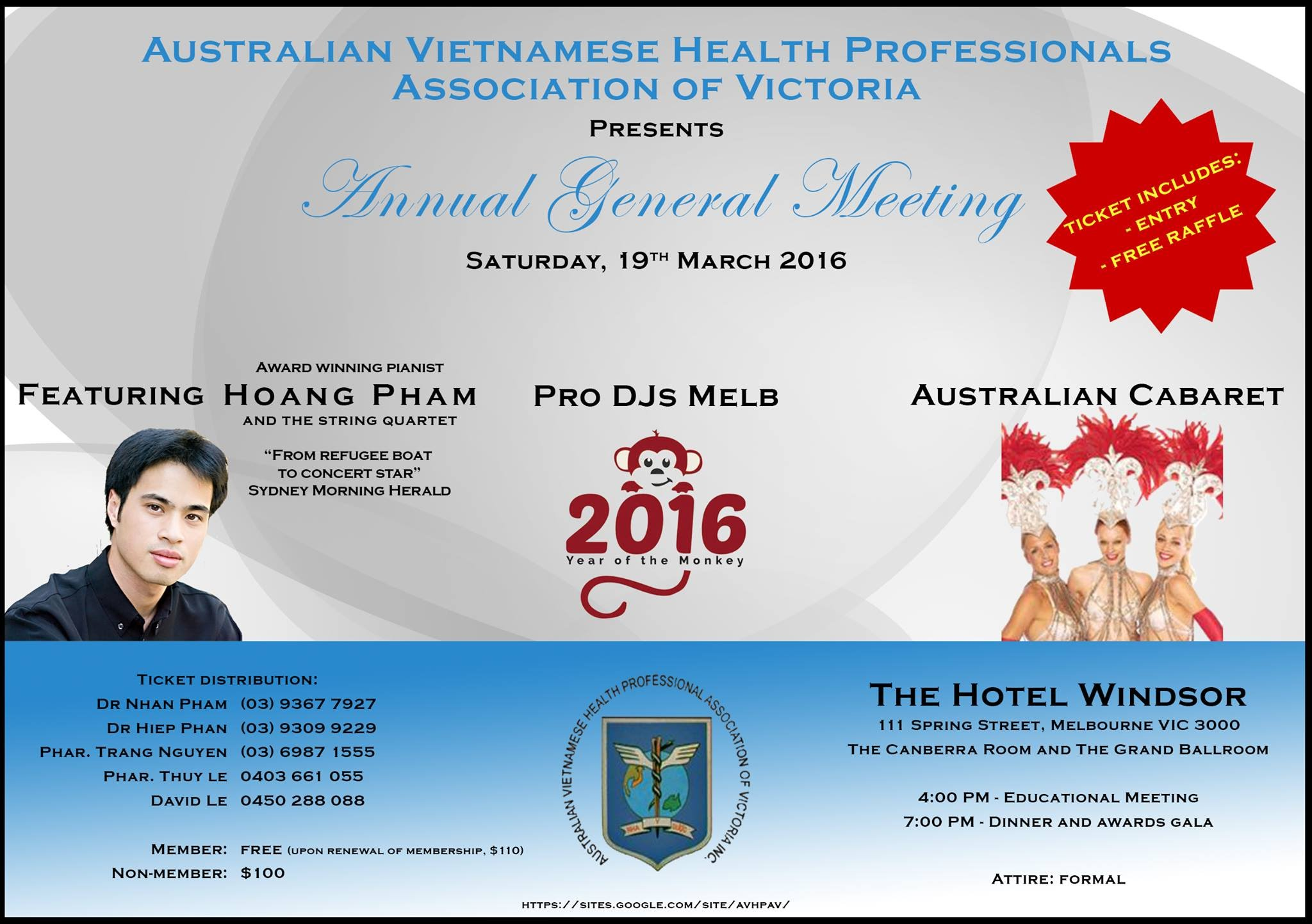 Meeting Minutes   The Australian Vietnamese Health Professionals