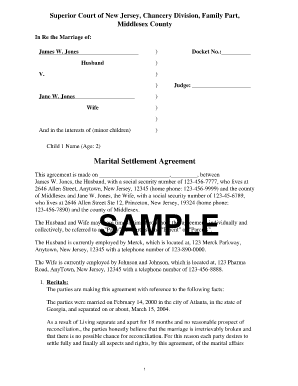 Settlement Agreement Template | zesloka.tk