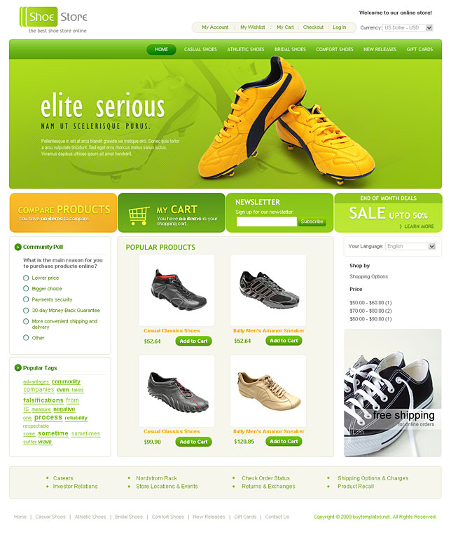 ColoShop   Free Bootstrap eCommerce Website Template   Colorlib