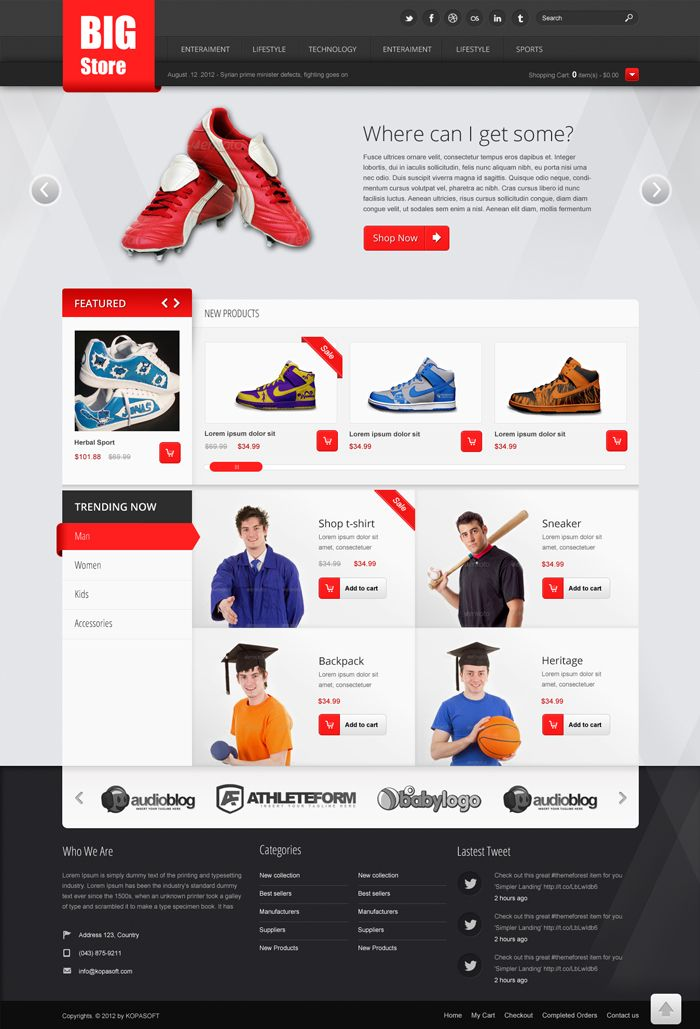 Ecommerce Website Templates | learnhowtoloseweight.net