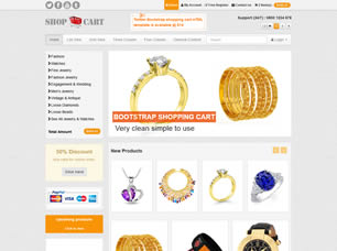 Free eCommerce Website Templates (25) | Free CSS