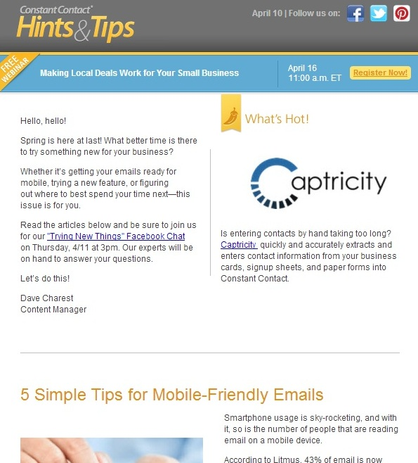 email newsletters examples   Physic.minimalistics.co