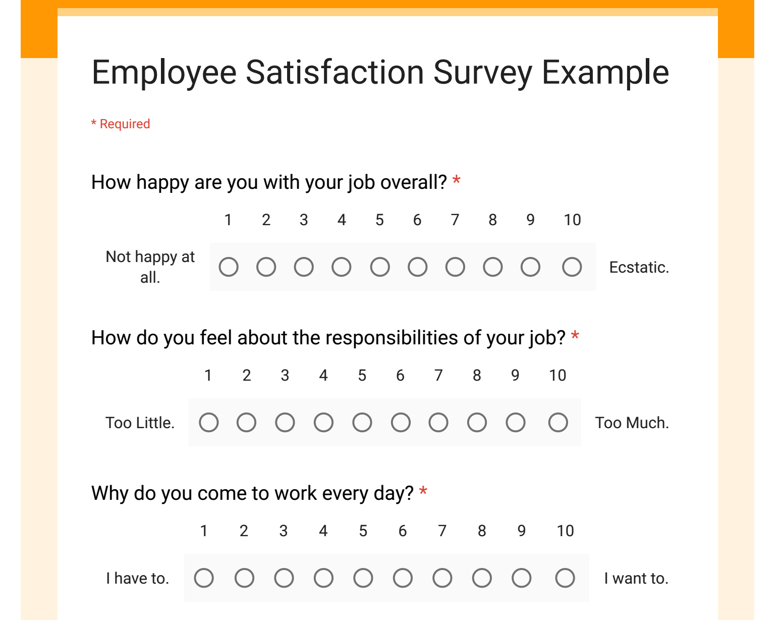Employee Satisfaction Survey | bravebtr