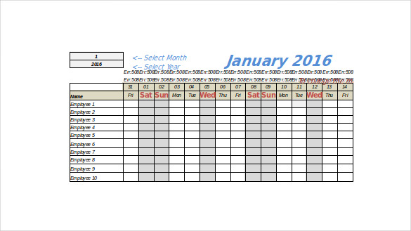 Vacation Tracking Template – 11+ Free Word, Excel, PDF Documents