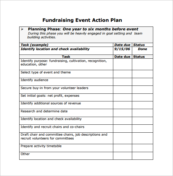 Event Planning Templates   Ant Yradar