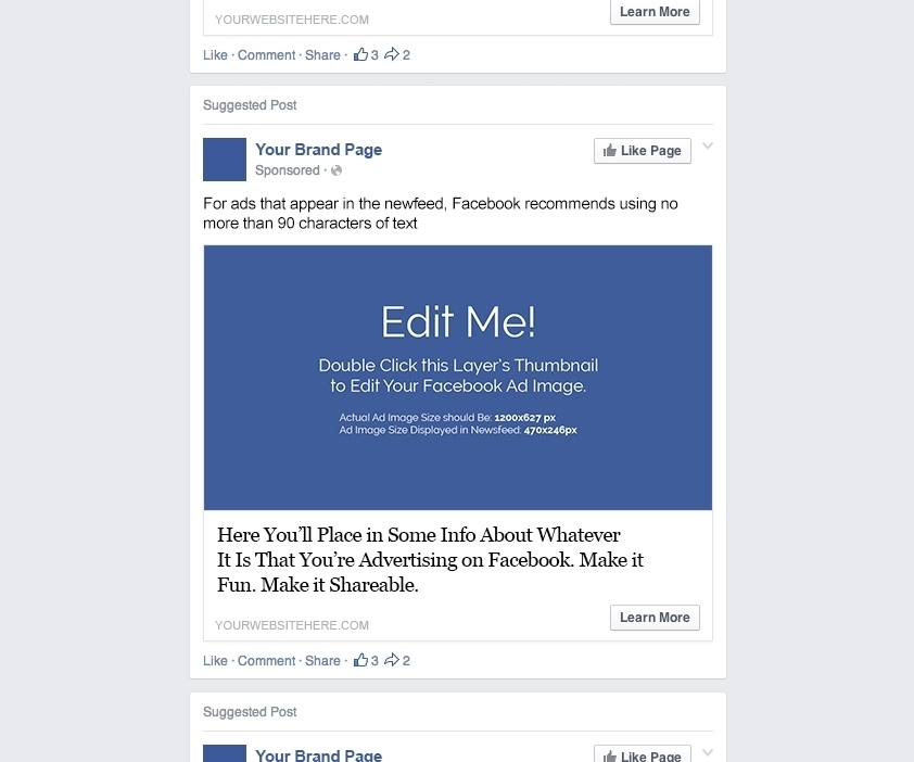 facebook ad template   Dorit.mercatodos.co