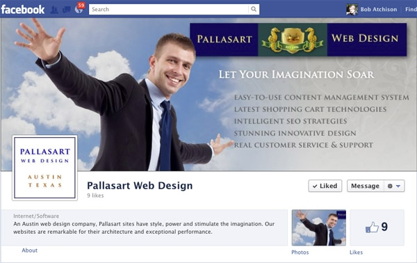 Creating Your Facebook Business Page   Pallasart Web Design News