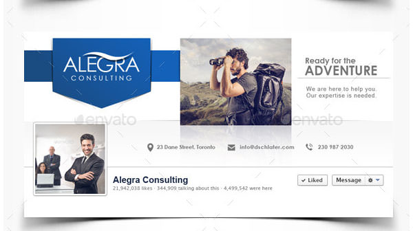 20+ Facebook Business Page Templates   Free & Premium Templates