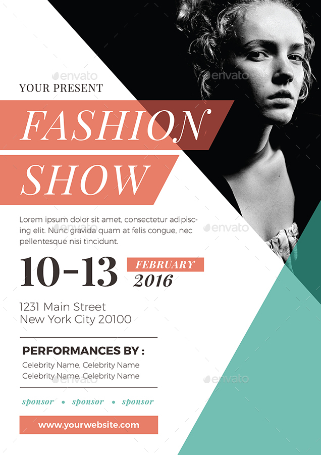 Fashion Show Flyer Pmvchamara Creative Graphic Designs Fashion