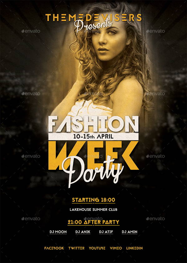 12+ Fashion Show Flyer Templates | Free & Premium Templates