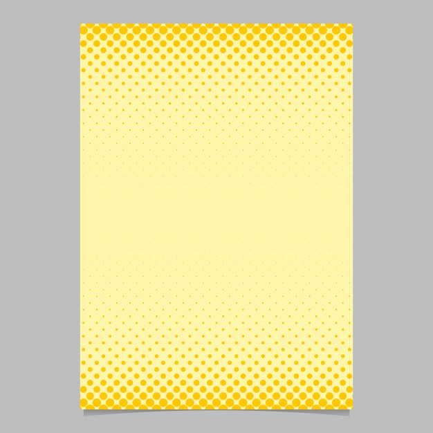 Color abstract halftone circle pattern card template   vector