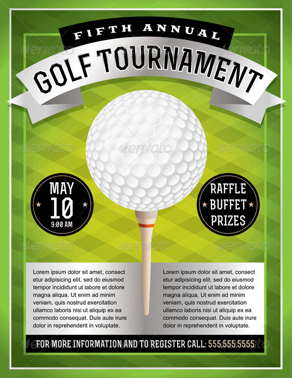 golf tournament flyer template powerpoint free golf outing flyer