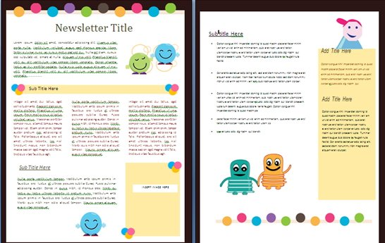 school newsletter templates free 15 free microsoft word newsletter