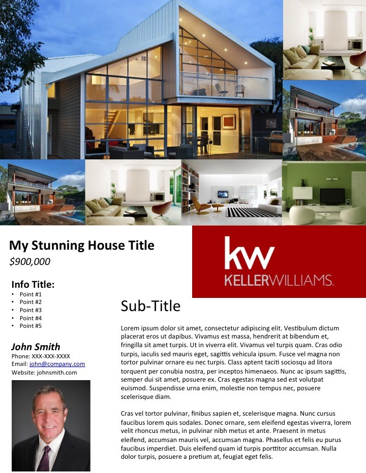 Free Real Estate Flyer Templates 0 – magnolian pc